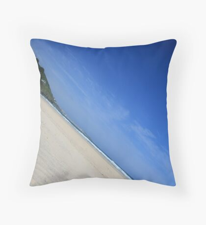 Porth Kidney Sands II Throw Pillow