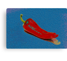 Painted Pepper Canvas Print