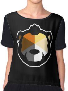 Phenom Bear Chiffon Top