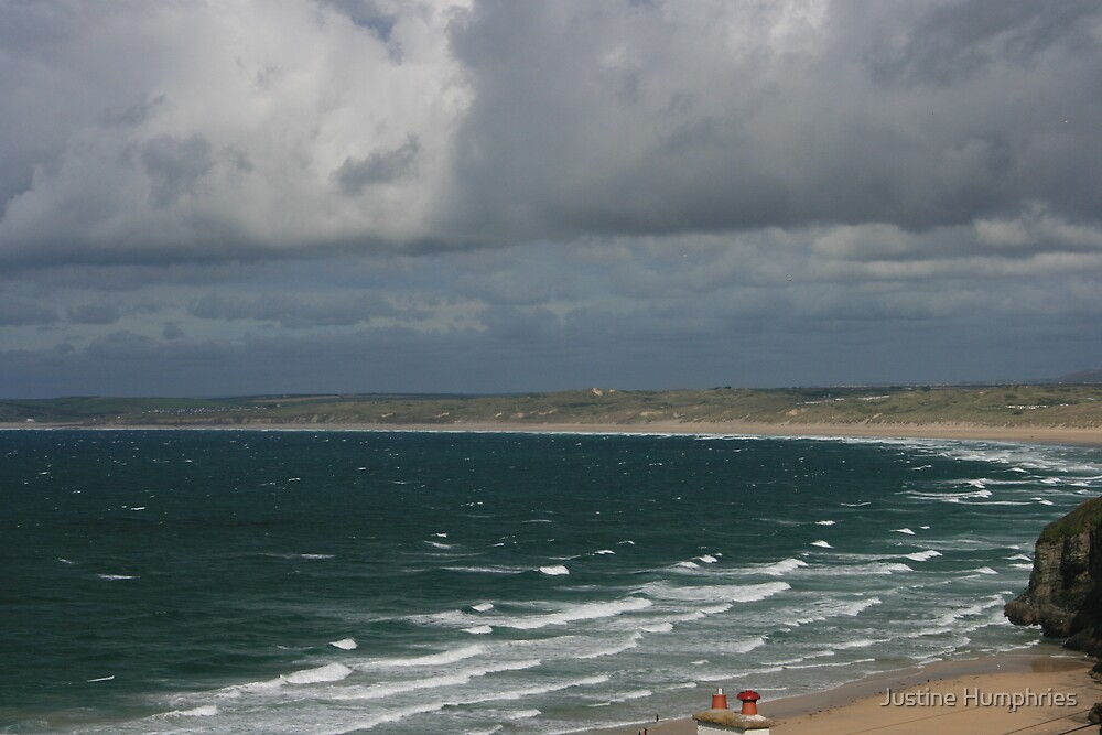 View towards Hayle Towans by Justine Humphries