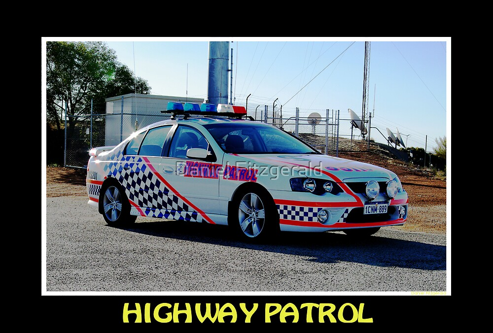 Highway Patrol by Daniel Fitzgerald