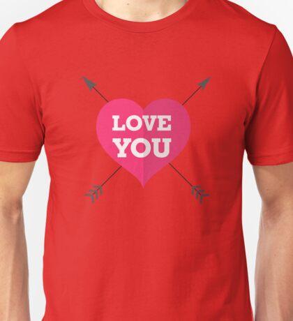 Love You Unisex T-Shirt