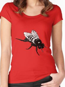 BUMBLE BEE Women's Fitted Scoop T-Shirt