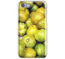Green Tomatoes Photo iPhone Case/Skin