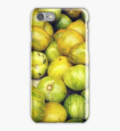 Green Tomatoes Photo iPhone Case/Skin