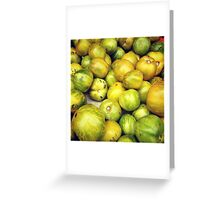 Green Tomatoes Photo Greeting Card