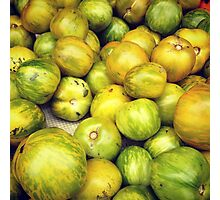 Green Tomatoes Photo Photographic Print