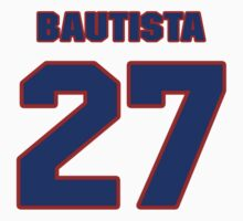 National baseball player Denny Bautista jersey 27 by imsport
