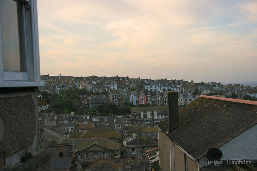 St Ives at Dusk by Justine Humphries