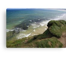 View form the Costal Path Canvas Print