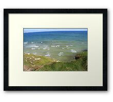 View form the Costal Path II Framed Print