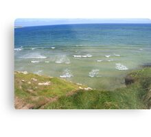 View form the Costal Path II Metal Print