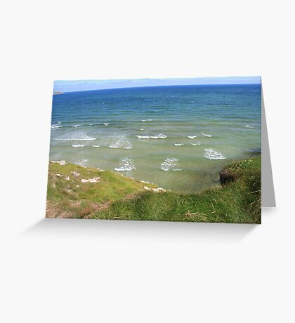 View form the Costal Path II Greeting Card