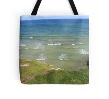 View form the Costal Path II Tote Bag