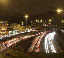 Charing Cross at Night by Steven Ramage