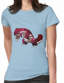 Celestial Groudon Womens Fitted T-Shirt