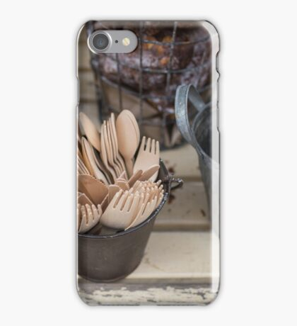 Crockery perfect for a picnic iPhone Case/Skin