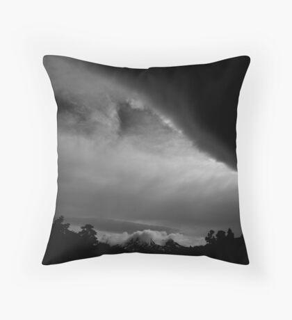 Brewing Storms Throw Pillow