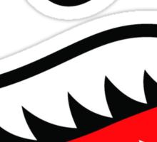 Fighter Teeth Redux Sticker