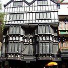 Tudor house, Exeter, Devon, UK, circa 1500 by Jan Stead JEMproductions