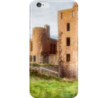 New Slains Castle Side View (Cruden Bay, Aberdeenshire, Scotland) iPhone Case/Skin