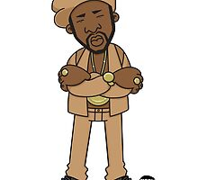Evolution Of The B-Boy – Rakim by Mark563