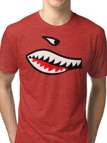 Fighter Teeth Tri-blend T-Shirt