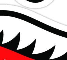 Fighter Teeth Sticker