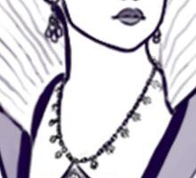 Queen Anne Sticker