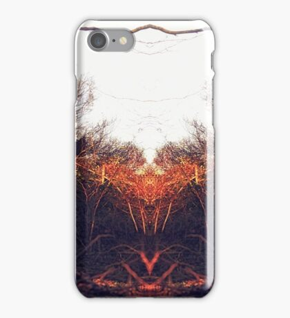Reflection on nature iPhone Case/Skin