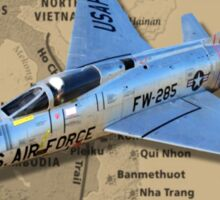 F-100 Super Sabre Vietnam Veteran Sticker