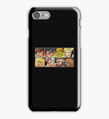 Street Fighter 2 - The Original World Warriors - Dirty iPhone Case/Skin