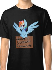 Rainbow Dash - Coolsville Classic T-Shirt