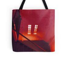 Upstairs Tote Bag