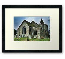 St Nicholas Church Leeds Kent Framed Print