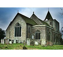 St Nicholas Church Leeds Kent Photographic Print