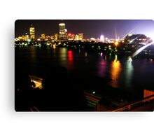 Boston Nightlife Canvas Print