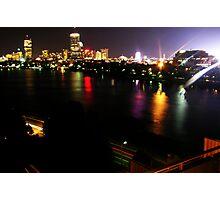 Boston Nightlife Photographic Print