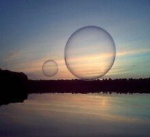 Bubble Above the Water by Hannah Clark