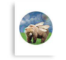 The Bumble-bear Canvas Print