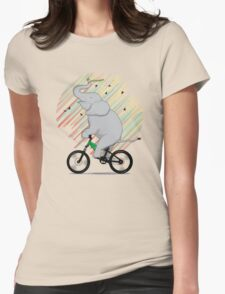 It's Like Riding a Bike Womens Fitted T-Shirt