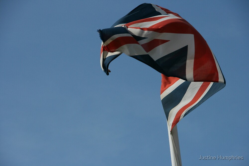 Flying the flag by Justine Humphries
