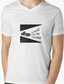 Don't Shoot! I'm only the photographer Mens V-Neck T-Shirt