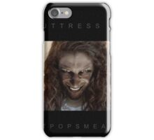 Buttress O'Kneel - PostPopSmearPop Dodgy Tie-in Merch iPhone Case/Skin
