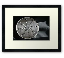 Great grater Framed Print