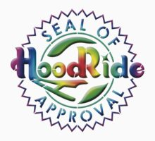 HOODRIDE Seal Of Approval 60s style by Tony  Bazidlo