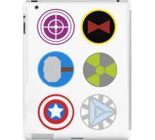 Avengers symbols iPad Case/Skin
