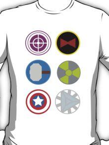 Avengers symbols T-Shirt
