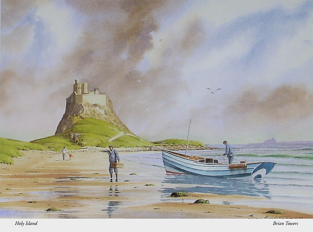 Holy Island - Northumberland by Brian Towers