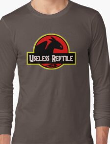 Toothless - Useless Reptile Long Sleeve T-Shirt
